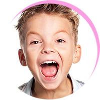 <p>Kinder-<br /><br />Zahnmedizin</p><br />